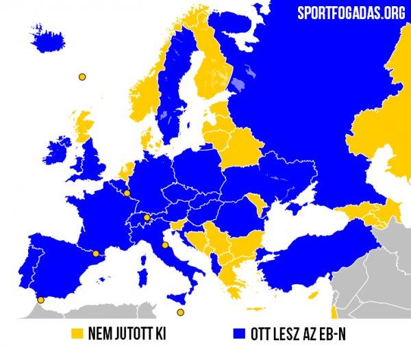 EB térkép