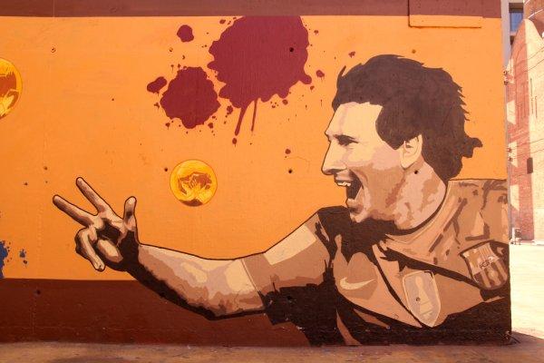 Lionel Messi - Grafiti